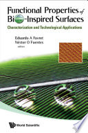 Functional Properties of Bio Inspired Surfaces