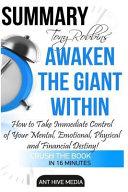 Summary Tony Robbins' Awaken the Giant Within