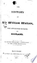 The History of Sir William Wallace