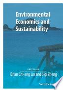 Environmental Economics and Sustainability Book