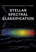Stellar Spectral Classification ebook