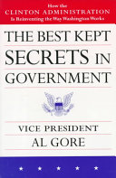 The Best Kept Secrets in Government