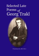 Georg Trakl Books, Georg Trakl poetry book