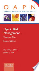 Opioid Risk Management Book