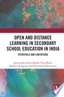 Open And Distance Learning In Secondary School Education In India PDF