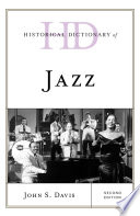 Historical Dictionary of Jazz Book