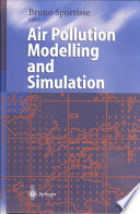 Air Pollution Modelling And Simulation Book PDF