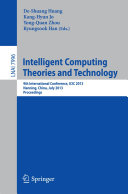 Intelligent Computing Theories and Technology