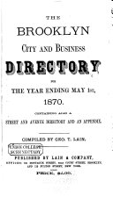 Brooklyn City Directory  1857