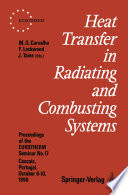 Heat Transfer in Radiating and Combusting Systems Book