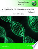 A Textbook of Organic Chemistry     Volume 1
