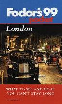 London 99 Book PDF