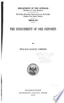 The enrichment of ore deposits /