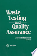 Waste Testing and Quality Assurance