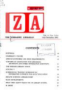 The Zimbabwe Librarian