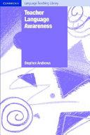 Teacher Language Awareness ebook