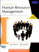 Fundamentals Of Human Resource Management  Content  Competencies And Applications Book