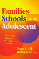 Families Schools And The Adolescent