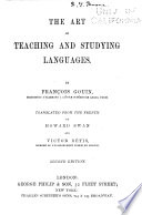 The Art of Teaching and Studying Languages