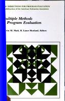 Multiple methods in program evaluation