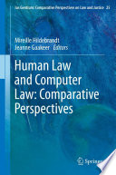 Human Law and Computer Law  Comparative Perspectives