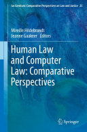 Human Law and Computer Law: Comparative Perspectives Pdf/ePub eBook