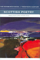 The Edinburgh Book of Twentieth century Scottish Poetry