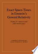 Exact Space Times in Einstein s General Relativity