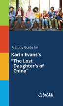 A Study Guide for Karin Evans's