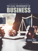 The Legal Environment of Business Book