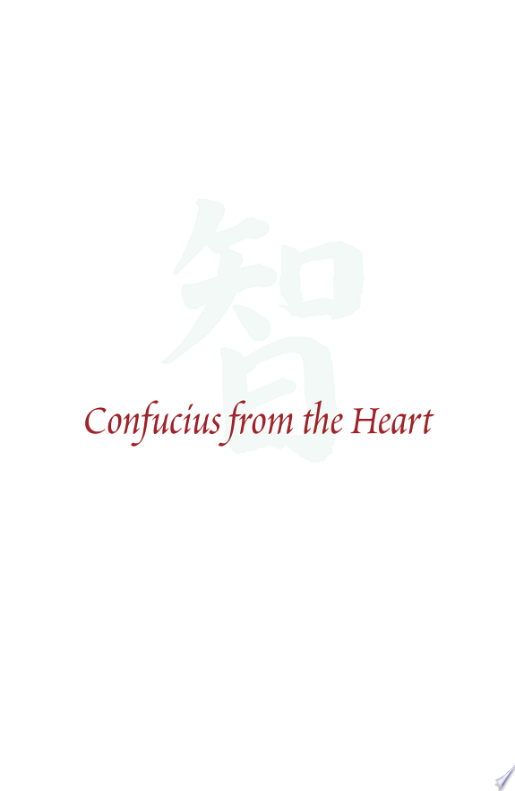 Confucius from the Heart