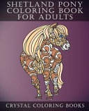 Shetland Pony Coloring Book For Adults