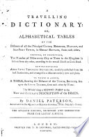 A Travelling Dictionary Book