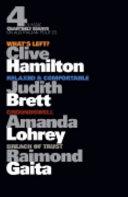 Four Classic Quarterly Essays on Australian Politics
