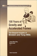 Pdf 100 Years of Gravity and Accelerated Frames