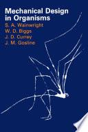 Mechanical Design In Organisms Book PDF