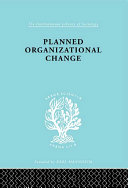 Planned Organizn Chang Ils 158