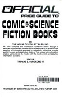 The Official Price Guide to Comic   Science Fiction Books