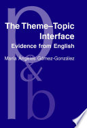 The Theme  Topic Interface