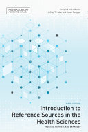 Introduction to Reference Sources in the Health Sciences Pdf/ePub eBook