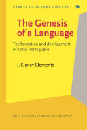 The Genesis of a Language
