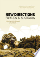 New Directions For Law In Australia