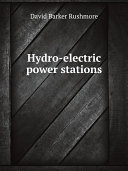 Hydro electric power stations