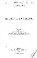 Lessons on Rigid Dynamics Book