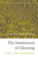 Pdf The Institutions of Meaning Telecharger