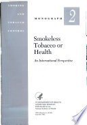 Smokeless Tobacco Or Health