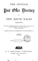 Pdf The Official Post office directory of New South Wales