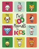 First 100 Animals for Kids Book PDF