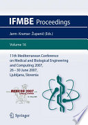 11th Mediterranean Conference On Medical And Biological Engineering And Computing 2007 Book PDF