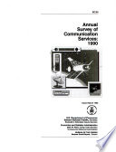 Annual Survey of Communication Services Book PDF
